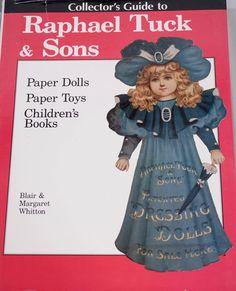 Raphael Tuck & Sons Paper Dolls, Paper Toys & Children's books  #HobbyHousePressInc