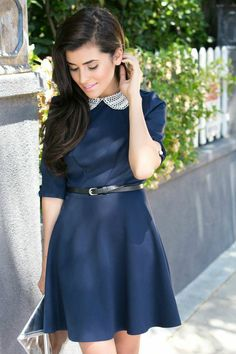 Spaz Outfit: Trendy School Girl ( Dresses & Metallic Clutches )