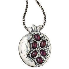 Garnet Pomegranate Necklace