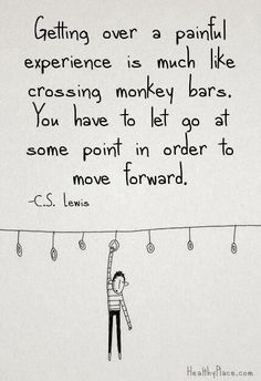 We all need to let go eventually...