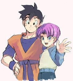 Gohan & Trunks...They always were my Fictional Characters Crush
