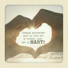 Geschenk met je hart...