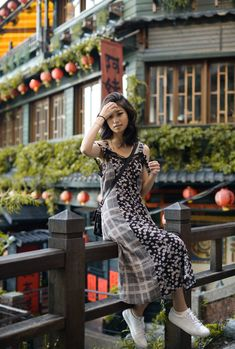 Jiufen, Taiwan / A Real Life Spirited Away – travel outfit Travel Pose, Beach Travel, Ootd Poses, Taipei Travel, Travel Pictures Poses, Spirited Away, Japan Photo, China Travel, Real Life