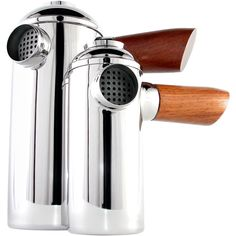 Wood & Chrome French Press