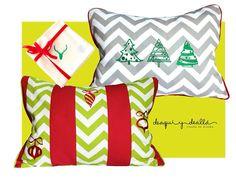 """MA HOME Christmas pillows / Navidad , 15""""x19"""""""