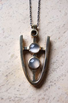 aesa moonstone necklace