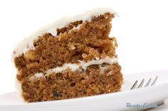 Light Carrot Cake with Cream Cheese Icing Recipe My Recipes, Mexican Food Recipes, Sweet Recipes, Dessert Recipes, Cooking Recipes, Favorite Recipes, Desserts, Yummy Treats, Yummy Food