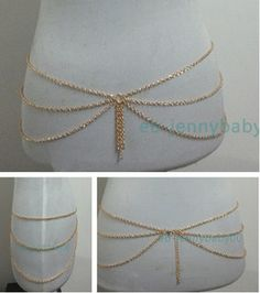 golden hip chain