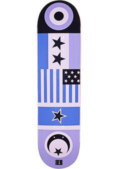 Chocolate Eldridge-Flags, Deck, purple Titus Titus Skateshop #Deck #Skateboard #titus #titusskateshop