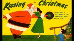 """This is vintage album art for the classic Christmas song. I can use my """"meet me under the mistletoe concept and rework it for """"I saw mommy kissing santa clause""""  -Vladimir"""