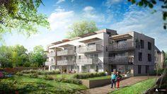 Résidence du Manoir : Des appartements de standing, du T2 au T5, dans un parc arboré, à proximité du centre-ville d'Auray (56). http://bit.ly/1E05ksU