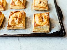 These are a breeze to make compared to a traditional apple pie and are just as tasty.
