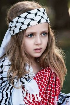 #Cute and #Beautiful #Palestinian #Girl