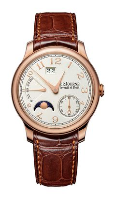 Montres Journe Introduces Solid Gold Dials on 3 New F.P. Journe Watches