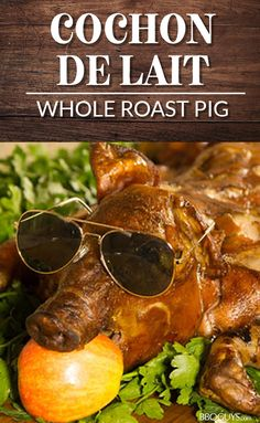 See how to roast a whole pig, including how to make the brine, on a Blaze Professional Gas Grill with this recipe and video from the experts at BBQGuys. Grilled Red Potatoes, Grilled Carrots, Grilled Roast, Pig Roast, Grilled Vegetables, Ham Recipes, Roast Recipes, Grilling Recipes, Recipies