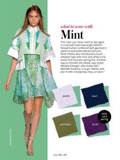 InStyle Color Crash Course-Mint