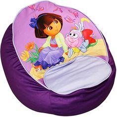 Nickelodeon Dora the Explorer Picnic Bean Chair