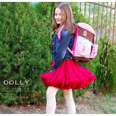 wear dolly also to school, everyday anywhere! Red Queen, Old Models, Bratislava, Fashion Dresses, Tulle, Girls Dresses, Skirts, How To Wear, Collection