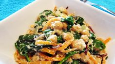 Creamy Cashew Kale & Chickpeas