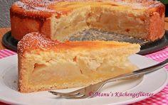 Apfelkuchen mit Quark-Schmand-Guß