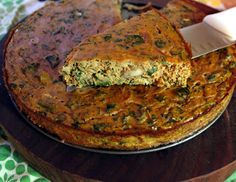 Savory pumpkin torte with kale ~  9 eggs One 15oz can pumpkin puree (NOT pumpkin pie filling) Small bunch (about 4 cups) raw kale, roughly torn off the stems 1 small red onion, thinly sliced 4 oz (weight) chopped mushrooms such as crimini, oyster, portobello  1 Tbs dried rosemary 1.5 tsp dried thyme 1.5 tsp cinnamon (optional) 3/4 tsp ground ginger (optional) 1/2 tsp salt 1/4 tsp ground black pepper Fat of choice for sauteeing (I used ghee, olive or coconut oil would work too)