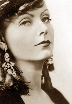 Greta Garbo. pinned with Bazaart