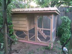 Living roof chicken coop 1