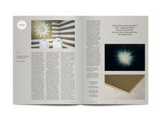 Spread from Frieze magazine