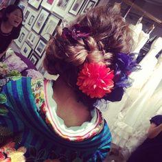 和装のヘアセット♪ の画像|My Style
