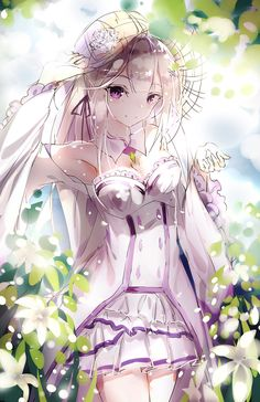 Emilia, Re zero kara Hajimeru Isekai Seikatsu