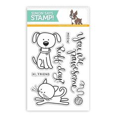 Simon Says Clear Stamps YOU ARE PAWESOME sss101423 This is the Life zoom image