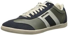 Diesel Men's Happy Hours Leather Fashion Sneaker #shoes http://www.theshoespack.com/diesel-mens-happy-hours-leather-fashion-sneaker/  Diesel Men's Happy Hours Leather Fashion Sneaker Contrast side stripe and heel counter. Lace up front closure with blind eyelets. Diesel logo at sides. Fabric lining and insole. Flexible synthetic outsole. Imported.