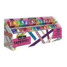Fashion Angels Tapeffiti 30 Piece Decorative Tape Caddy