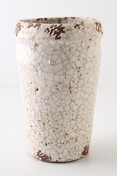 Fantastic vase that should sit upon Wanza's grandmother's marble top coffee table.