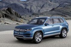 Volkswagen Crossblue : le concept car SUV hybride, présenté au salon auto de Détroit 2013