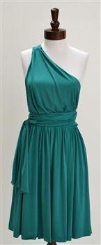 Halston Heritage  One-Shoulder Jersey Dress