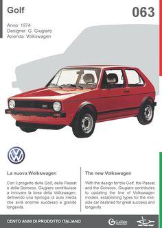Golf by Giorgetto Giugiaro for Volkswagen (1974) #car #automotive