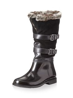 47% OFF Storm by Cougar Women's Salma Rain Boot (Black Suede)