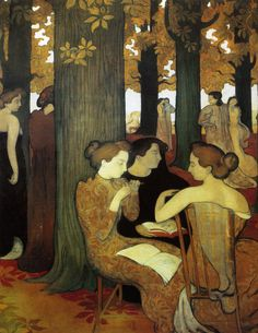 The Muses  Maurice Denis