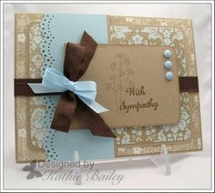 Stampin Up: Pocket Silhouettes. Ooo, pretty! also uses the Martha Stewart doily lac punch.