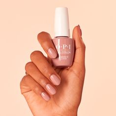"look remarkable in because your mani doesn't lose it's shine and dull after a few days. We love ""Edinburgh-er & Tatties"" from for and Vernis Semi Permanent Opi, Essie, Beige Nails, Foods With Calcium, Nails At Home, Balsamic Beef, Good Foods For Diabetics, Kinds Of Salad, Christmas Nail Art"