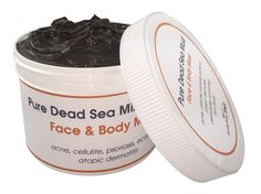 Pure Dead Sea Mud Mask 32% Mineral Unscented Atoptic Dermatitis 2 oz * You can get additional details at the image link. (Note:Amazon affiliate link)