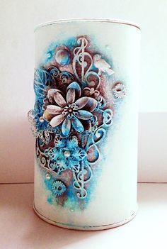 An altered can by Marta Dębicka