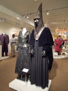 Original Harry Potter Death Eater movie costumes - bellatrix lestrange