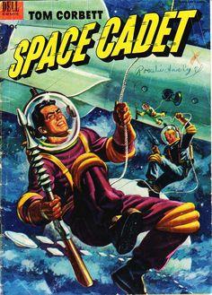 Comic Book Cover - Tom Corbett Space Cadet