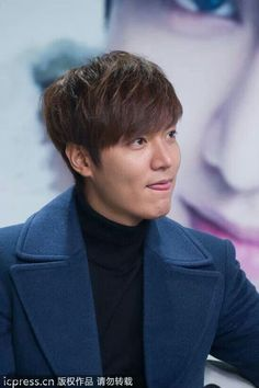 Lee Min Ho during Suho Red Carpet   Media Interview 12.21.13 Beijing,China