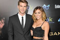 liam hemsworth & miley cyrus <3