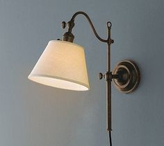 CFL Adair Sconce, Set of 2, Bronze finish - traditional - Wall Sconces - Pottery Barn