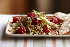 Driscoll's Roasted Fennel Salad with Raspberries www.driscolls.com