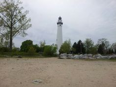 Wind Point Lighthouse in Racine WI